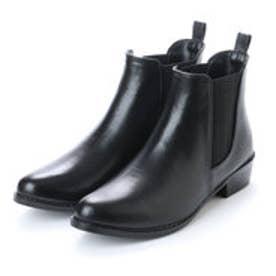 エニーウォーク Anywalk ショートレインブーツ (ブラック)・aw_16030 (BLACK)