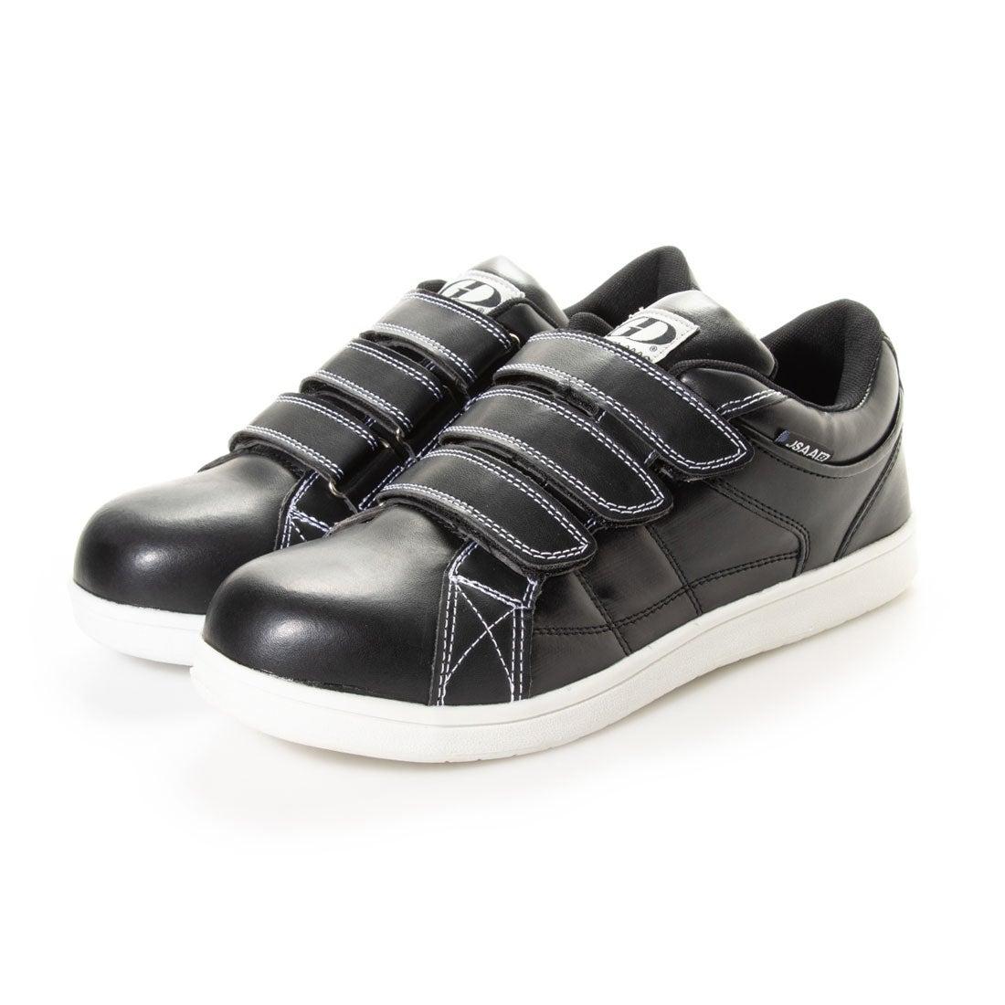ジーディージャパン GD JAPAN 安全靴 セーフティーシューズ 鋼鉄先芯 ローカット 軽量 GD-732 ブラック (ブラック)