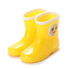 ジョリーウォーク Jolly Walk レインシューズ 柔軟性 防滑パターンアウトソール サイドキャラクター JWQ01 (Yellow)