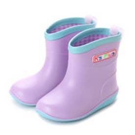 ケーズプラス K's PLUS 子供 ベビー レインシューズ 初めてのレインシブーツ kp_18003 (Lavender/ラベンダーパープル)