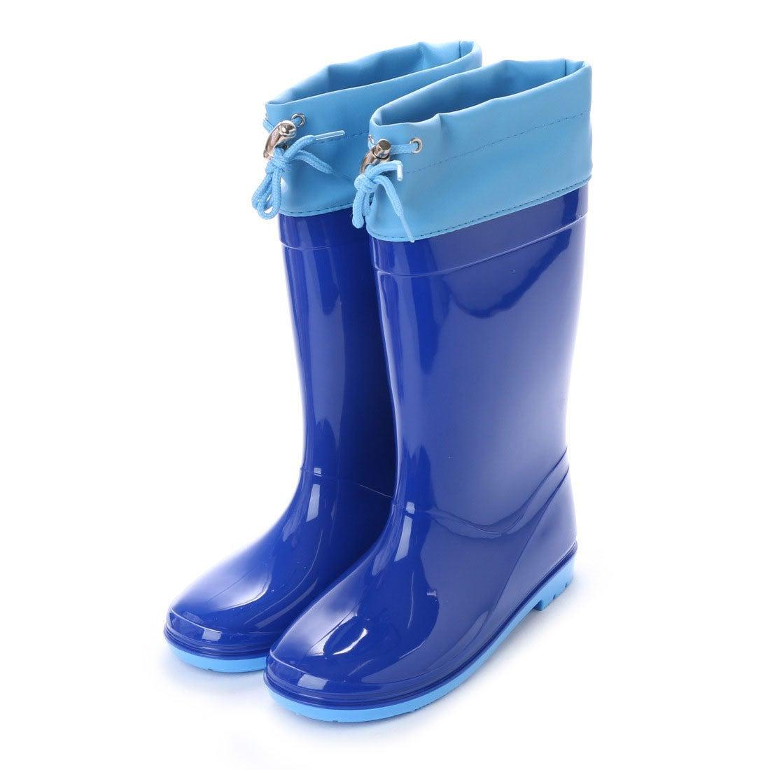 be5848d2e7b9f ケーズプラス K's PLUS 巾着付き 水・雪の浸入防止 レインシューズ 16cm-24cm キッズ,ベビー,男の子,女の子,長靴,レインブーツ,子供  (NAVY) -靴&ファッション通販 ...