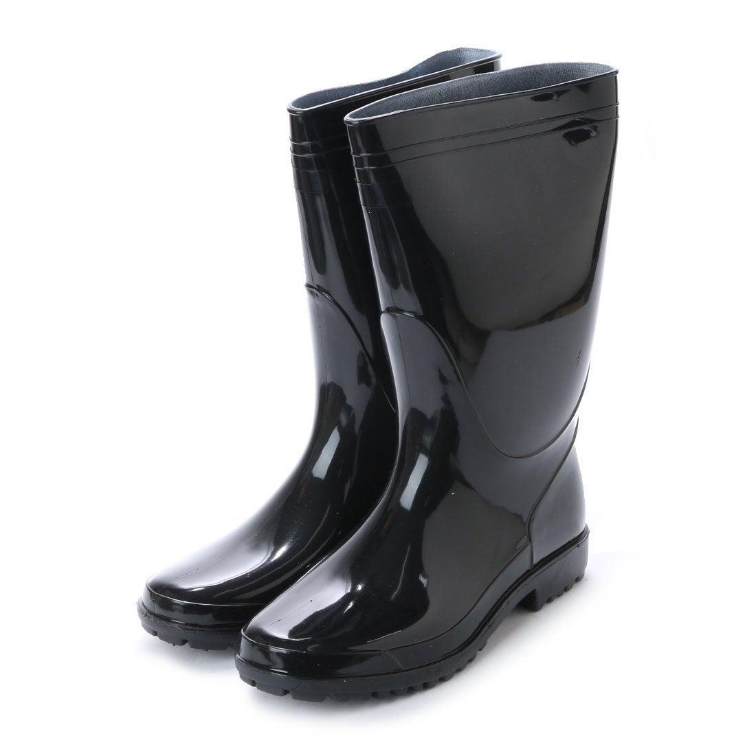 ケーズプラス K's PLUS 軽半長靴 軽作業用 黒 長靴・kp_16049 (BLACK)