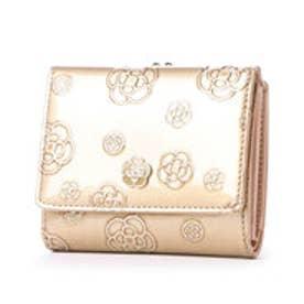 クレイサス CLATHAS アルゴ 口金2つ折り財布 (ゴールド)