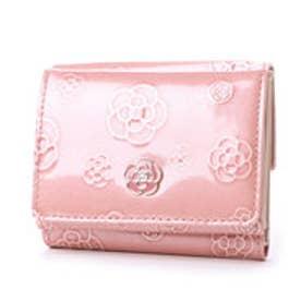 クレイサス CLATHAS アルゴ 三つ折り財布 (ピンク)
