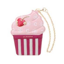 クレイサス CLATHAS メレンダ パスケース カップケーキ (ピンク)