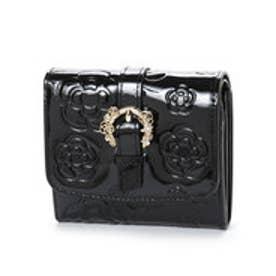 クレイサス CLATHAS ブリオッシュ 2つ折り財布 (ブラック)