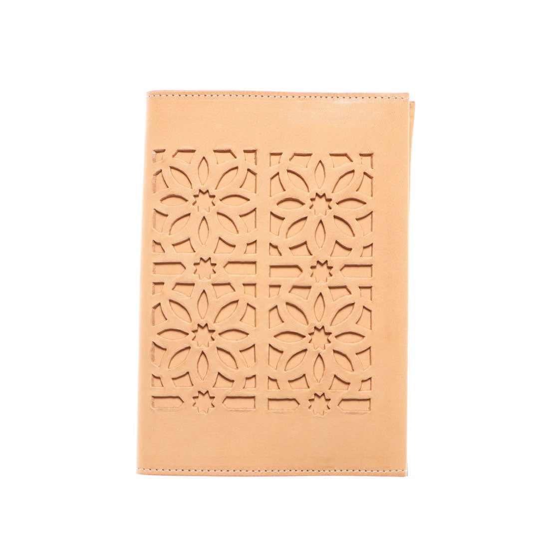 ロコンド 靴とファッションの通販サイトゲンテン genten カットワーク ブックカバー (ヌメベージュ)