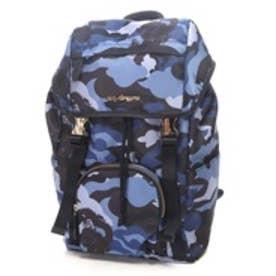 ケイタマルヤマ アクセサリーズ KEITAMARUYAMA accessories Camouflage リュックサック (ブルー)