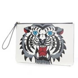 ケイタマルヤマ アクセサリーズ KEITAMARUYAMA accessories Tiger クラッチバッグ (グレー)
