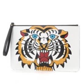 ケイタマルヤマ アクセサリーズ KEITAMARUYAMA accessories Tiger クラッチバッグ (イエロー)