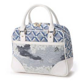 ケイタマルヤマ アクセサリーズ KEITAMARUYAMA accessories SAKURA ボストンバッグ (ブルー)