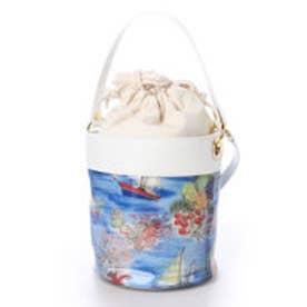 ケイタマルヤマ アクセサリーズ KEITAMARUYAMA accessories Glamorous Beach バケツトートバッグ (ブルー)