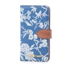 ケイタマルヤマ アクセサリーズ KEITAMARUYAMA accessories Blue Blue Blue iPhone6 手帳型ケース (ブルー)
