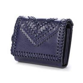 ケイタマルヤマ アクセサリーズ KEITAMARUYAMA accessories SELENA 2つ折り財布 (パープル)