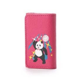 ケイタマルヤマ アクセサリーズ KEITAMARUYAMA accessories DISCO-PANDA キーケース (ピンク)