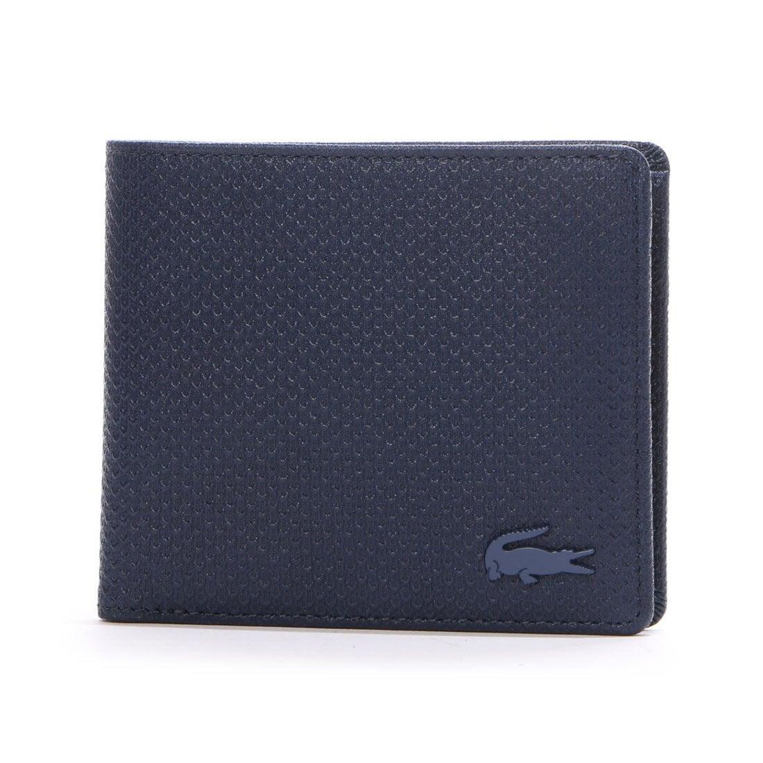 ラコステLACOSTECHANTACOMEN2つ折り財布(ネイビー)