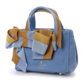 ランバン オン ブルー LANVIN en Bleu マリアンヌ トートバッグS (ブルー)