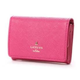 ランバン オン ブルー LANVIN en Bleu リュクサンブール 3つ折り財布 (ローズ)