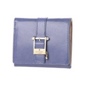 ランバン オン ブルー LANVIN en Bleu ジュネ 2つ折り財布 (ブルー)