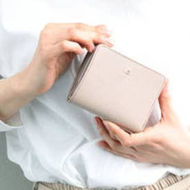 ランバン オン ブルー LANVIN en Bleu リュクサンブール 2つ折り財布 Lファスナー (ピンク)