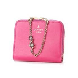 ランバン オン ブルー LANVIN en Bleu シャルティエ 2つ折り財布 (ピンク)