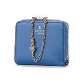 ランバン オン ブルー LANVIN en Bleu シャルティエ 2つ折り財布 (ブルー)