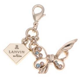 ランバン オン ブルー LANVIN en Bleu チャーム リボン (ゴールド)