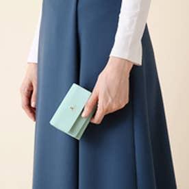 ランバン オン ブルー LANVIN en Bleu リュクサンブール 3つ折りミニ財布 (ミント)