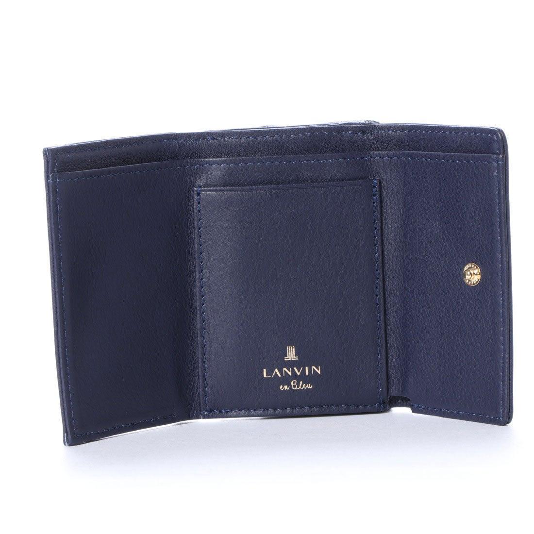1691d2741806 ランバン オン ブルー LANVIN en Bleu シャペル 3つ折りミニ財布 ...