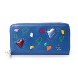 ランバン オン ブルー LANVIN en Bleu プランダムール ラウンドファスナー長財布 (ブルー)