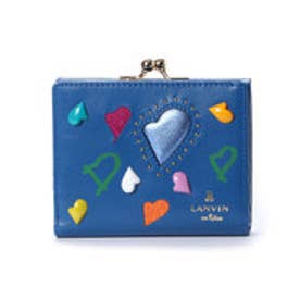 ランバン オン ブルー LANVIN en Bleu プランダムール 2つ折り口金財布 (ブルー)