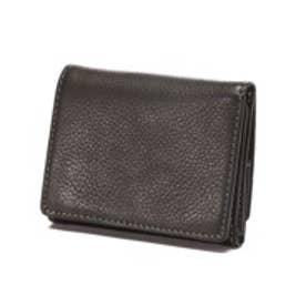 カナザワイチキュウロクイチ Kanazawa1961 ベジタブルレザー コンパクト三つ折り財布(ブラック)