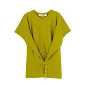 LAGUNAMOON コルセットTシャツ(グリーン)