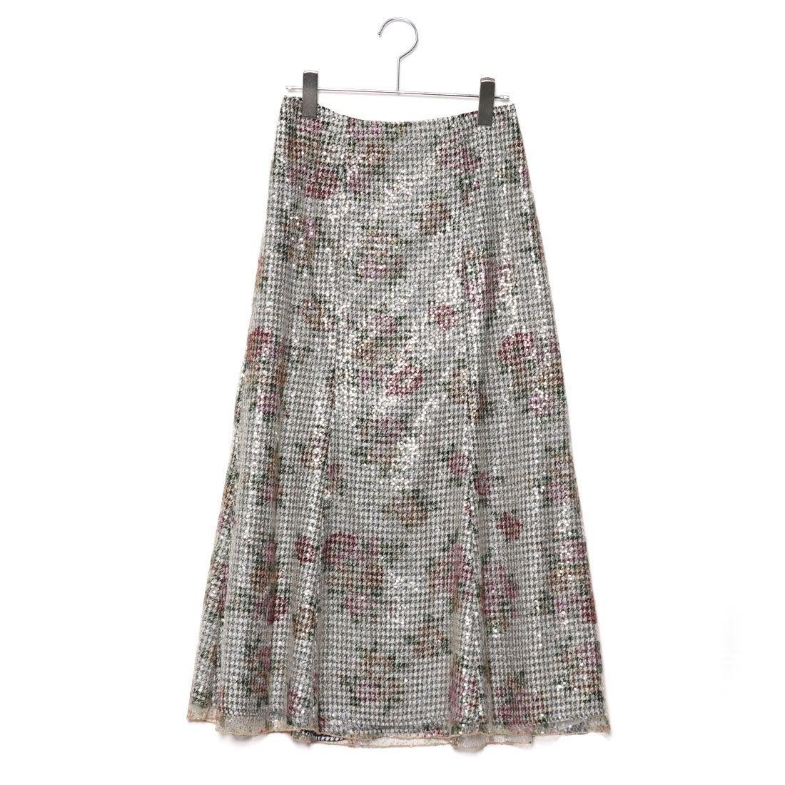 ed0deb5377dc5 リリーブラウン Lily Brown スパンコールマーメイドスカート (オフホワイト) -靴&ファッション通販 ロコンド〜自宅で試着、気軽に返品