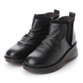 ソフトステップ バイ マドラス SOFT STEP by MADRAS INC 5.5cmサイドゴアショートブーツ (BLA)