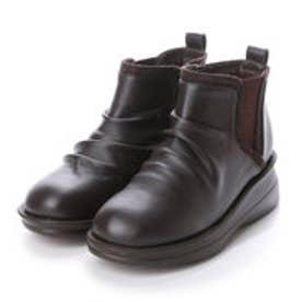 ソフトステップ バイ マドラス SOFT STEP by MADRAS INC 5.5cmサイドゴアショートブーツ (DBR)