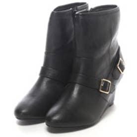 テーン tehen 6.5cmショートブーツ (ブラック)