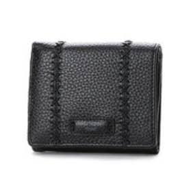 カンサイ ヤマモト ファム KANSAI YAMAMOTO FEMME ボックス型小銭入れ2つ折財布 (ブラック)