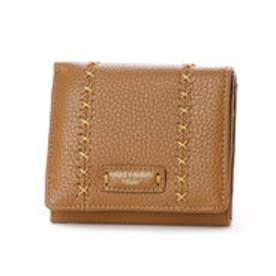 カンサイ ヤマモト ファム KANSAI YAMAMOTO FEMME ボックス型小銭入れ2つ折財布 (ベージュ)