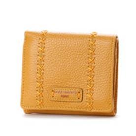 カンサイ ヤマモト ファム KANSAI YAMAMOTO FEMME ボックス型小銭入れ2つ折財布 (イエロー)