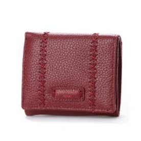 カンサイ ヤマモト ファム KANSAI YAMAMOTO FEMME ボックス型小銭入れ2つ折財布 (ワイン)