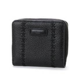 カンサイ ヤマモト ファム KANSAI YAMAMOTO FEMME ラウンドファスナー2つ折財布 (ブラック)