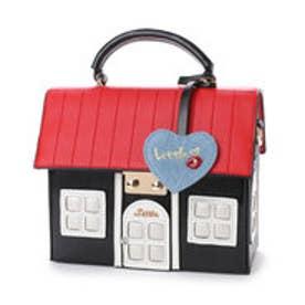 リトルアクセサリーズ LITTLE accessories 【LITTLE ACCESSORIES リトルアクセサリーズ】ハウス(家)デザイン2wayバッグ (ブラック)