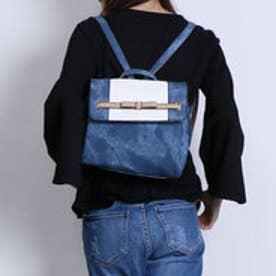 リトルアクセサリーズ LITTLE accessories ころんとした3層式リュック (ブルー)