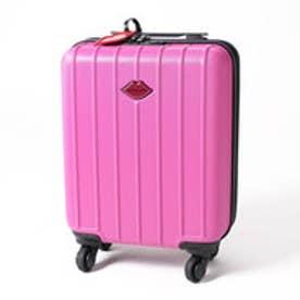 スパイラルガール SPIRAL GIRL マット調エンボス加工トラベルハードキャリーミニ (ピンク)