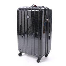 スパイラルガール SPIRAL GIRL スーツケース 50L拡張機能付トラベルハードキャリー (ブラック)