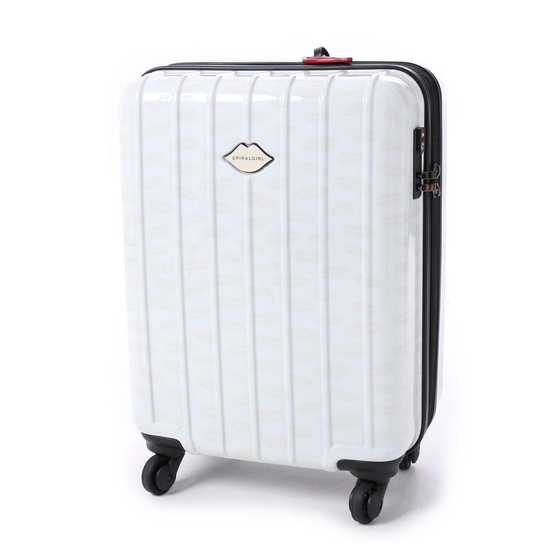 d77b3ac75560 スパイラルガール SPIRAL GIRL スーツケース 36L拡張機能付トラベルハードキャリー (アイボリー) -レディースファッション通販  ロコンドガールズコレクション ...