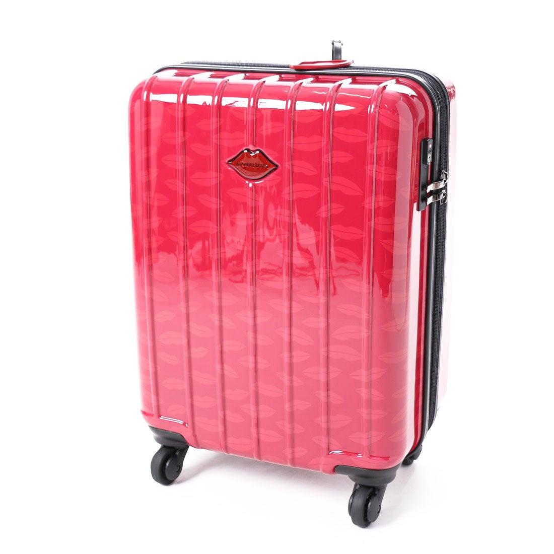 スパイラルガール SPIRAL GIRL 【SPIRALGIRLスパイラルガール】スーツケース 36L拡張機能付トラベルハードキャリー (レッド) レディース