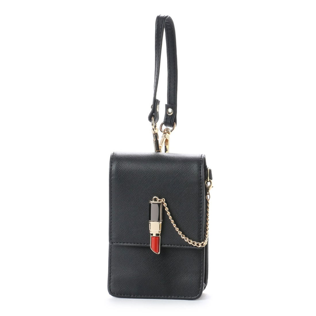 76ae0d37e328 スパイラルガール SPIRAL GIRL 口紅型金具付きシガレットケース (ブラック) -靴&ファッション通販 ロコンド〜自宅で試着、気軽に返品