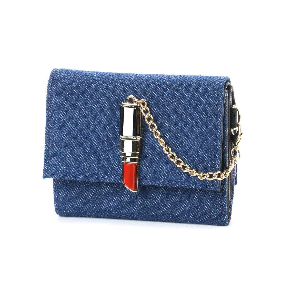be199a92a2e8 スパイラルガール SPIRAL GIRL 口紅型金具付き折財布 (ネイビー) -レディースファッション通販 ロコンドガールズコレクション  (LOCONDO GIRL'S COLLECTION)